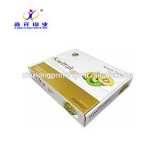 Boîtes adaptées aux besoins du client d'emballage de carton de fruit avec la bonne capacité portante