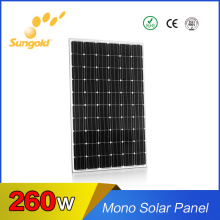 Best High Efficiency Mono Solar Panel 260W Mono 36V Solar Cells