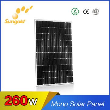 Best High Efficiency Mono Solar Panel 260W Mono 36V Solar Cells