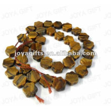 Tigereye gemstone estrela Beads
