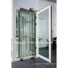 villa elevator white floding door