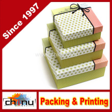 Papier Geschenkbox / Papier Verpackung Box (12D6)