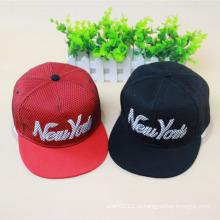 Модные вышитые хлопок Twill Hip Hop Trukfit Hats (YKY3303)