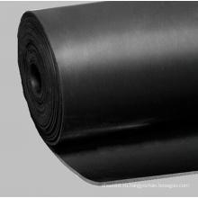 Черный лист резины NBR для тепла доказательство