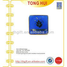 Emaille Zink-Legierung Souvenir Revers Pin / Abzeichen für die Schule