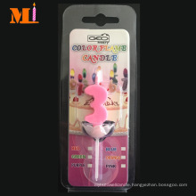 Color Flame Number Birthday Candle Wholesale