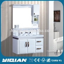 Wall Mounted Modern Design PVC Waterproof Plastic Bathroom Vanity Units