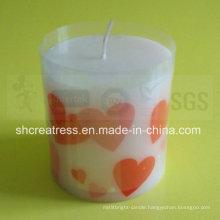 High Quality Pillar Shape Art Candle