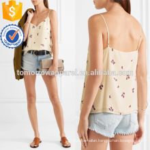 Printed Silk Crepe De Chine Camisole Manufacture Wholesale Fashion Women Apparel (TA4089B)