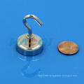 D25X38mm female thread pot magnets with hooks E25