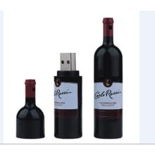 Botella de vino creativa USB Flash Drive