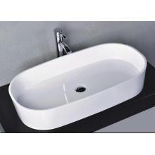 Cuarto de mármol blanco brillante de contador superior elegante (BS-8307)