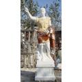 Geschnitzte Stein Marmor Caesar Statue Skulptur für Garten (SY-X1181)