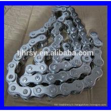 Chaîne à rouleaux 12B en acier inoxydable série 304 meilleur fournisseur