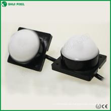 IP66 DC12V 50mm 6pcs SMD 5050 punto de píxel DMX RGB para iluminación exterior