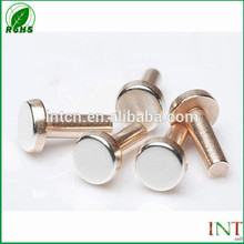 electric relay switch parts solid copper rivets