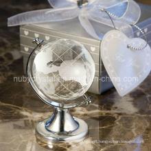 Crystal Globe for Wedding Decoration