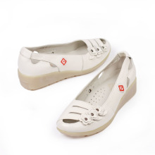 fashion trendy flat women plastic closed toe sandals