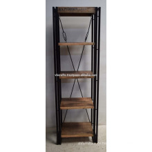 Промышленный Городской Лофт Деревянные Книжные Полки Металла