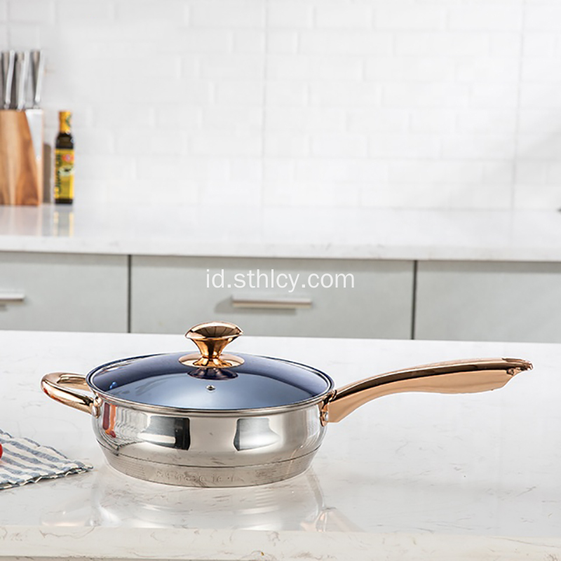 Hot-Jual Grosir Stainless Steel Belly Pot Set