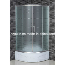 Salle de douche en verre acide (AS-901BD)