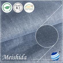 142 GSM и обычный 100% льняная ткань для рубашки поставщик ткани мужские ткани для одежды ткань для продажи