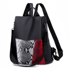 2021 promotional fashion oxford trendy anti theft lady packs sports outdoor shopping women backpack