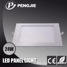 Ультра-тонкий светодиодный свет панели с 3 Летами Гарантированности