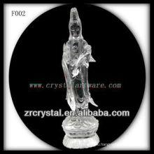 K9 Кристалл ручной скульптурные Богиня милосердия