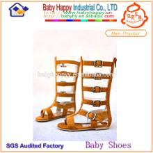 Großhandel niedlichen beliebten Knie hohen Gladiator Sandalen