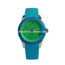 CE Rohs minimalistische polnische Silikon Kinderuhr China Watch Factory Unisex Quarzuhren