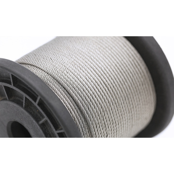 Câble en acier inoxydable 1X19 12mm 316