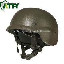 Pasgt tactical bullet proof helmet with material UHMWPE HDPE or Amarid fiber Kevlar