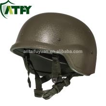Тактический пуленепробиваемый шлем Pasgt из материала HDPE из UHMWPE или волокна кевлара Amarid