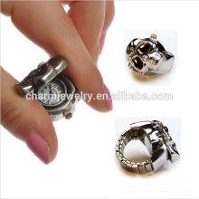 Высокое качество Кольцо Смотреть новейшие Мода кольцо Смотреть Punk Кольцо Часы для оптового JZB005