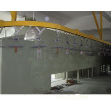 metal powder coating line