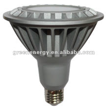 Luz E27 16W regulable LED PAR38 de alta potencia, lámpara Spot PAR
