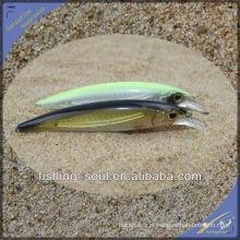 Embalagem plástica dura da isca da pesca do Minnow de MNL036 12CM / 13G