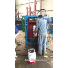 Hydraulic baling press machine for paper baling machine