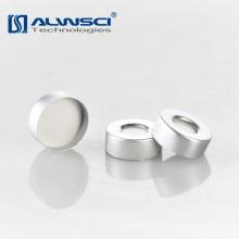 20mm Eisen und Mitte 8mm Loch Silber Aluminium Crimp Kappe für GC Durchstechflasche