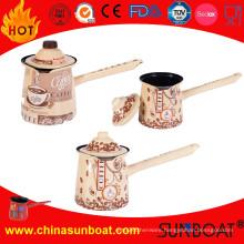 Full Decal/Hand-Painted Enamel Coffee Pot/Teapot/Milk Pot Kettle