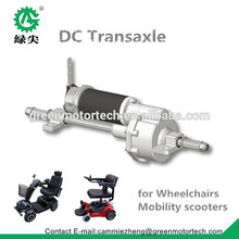 electric motor 24v 500w with axle for the wheelchair