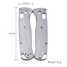 Custom Knife Frame Parts Titanium Knife Handle Scales