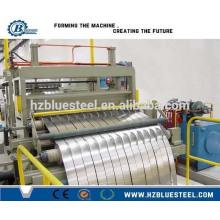 Горячая продажа Промышленная автоматическая холоднокатаная стальная разрезающая линия с автомобилем и перемотчиком