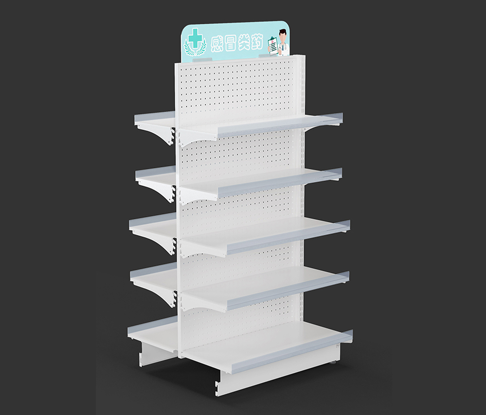Metal Pharmacy Shelving Units