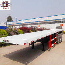 3 Axles Container Flatbed Semi Trailer