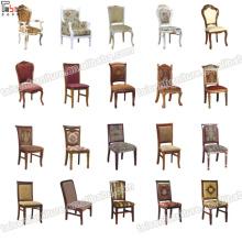 Modern High Class Wood Arm Leisure Chair