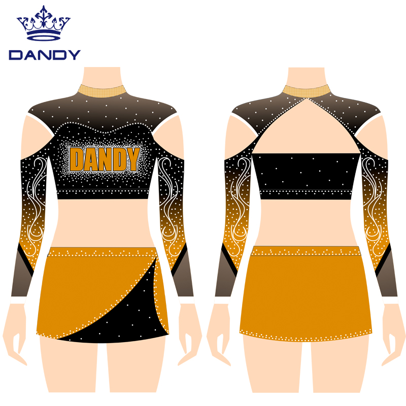 glee cheer uniform