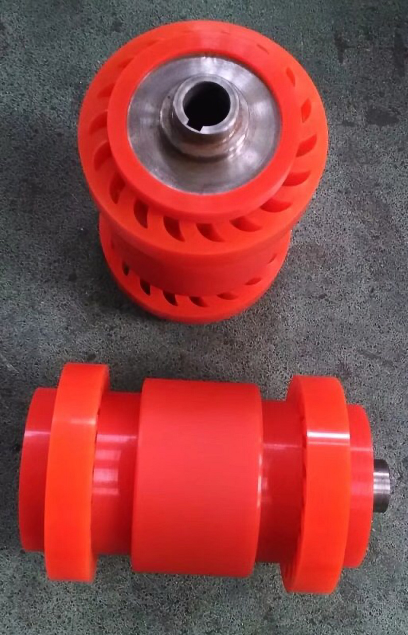 Custom Pu Polyurethane Urethane Tread Wheel