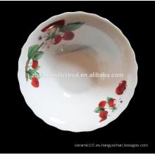 Linyi fábrica de cerámica de porcelana de la sopa Bowl